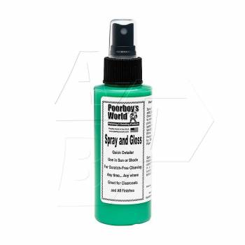 Poorboy's World Spray & Gloss tester