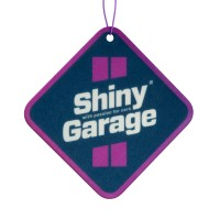 Shiny Garage Square Air Freshener - Blueberry