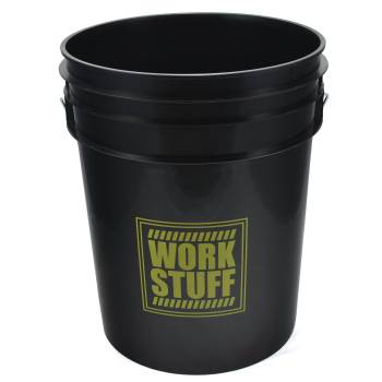 Work Stuff Detailing Bucket Rinse Black
