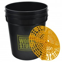 Work Stuff Detailing Bucket Rinse Black + Separator
