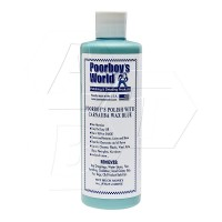 Poorboy's World Polish with Carnauba Wax Blue
