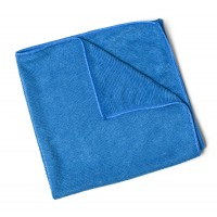 Shiny Garage Blue Work Microfiber Cloth 40x40