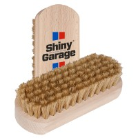 Shiny Garage - Leather Brush