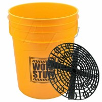 Work Stuff Wiadro Detailing Bucket Wash Yellow + Separator