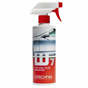 Gtechniq W7 Tar and Glue 500 ml - Płyn do usuwania resztek asfaltu i kleju
