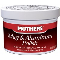 Mothers Mag & Aluminum Polish 238g - Pasta do polerwowania metalu