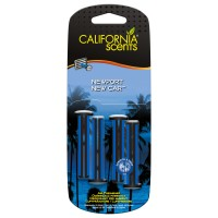 California Scents Sticks - Newport New Car - Patyczki do nawiewu 4 szt